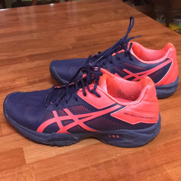 ASICS Gel Solution Speed 3 Tennis Court Shoes